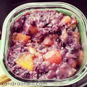 Warm Fruit Salad
