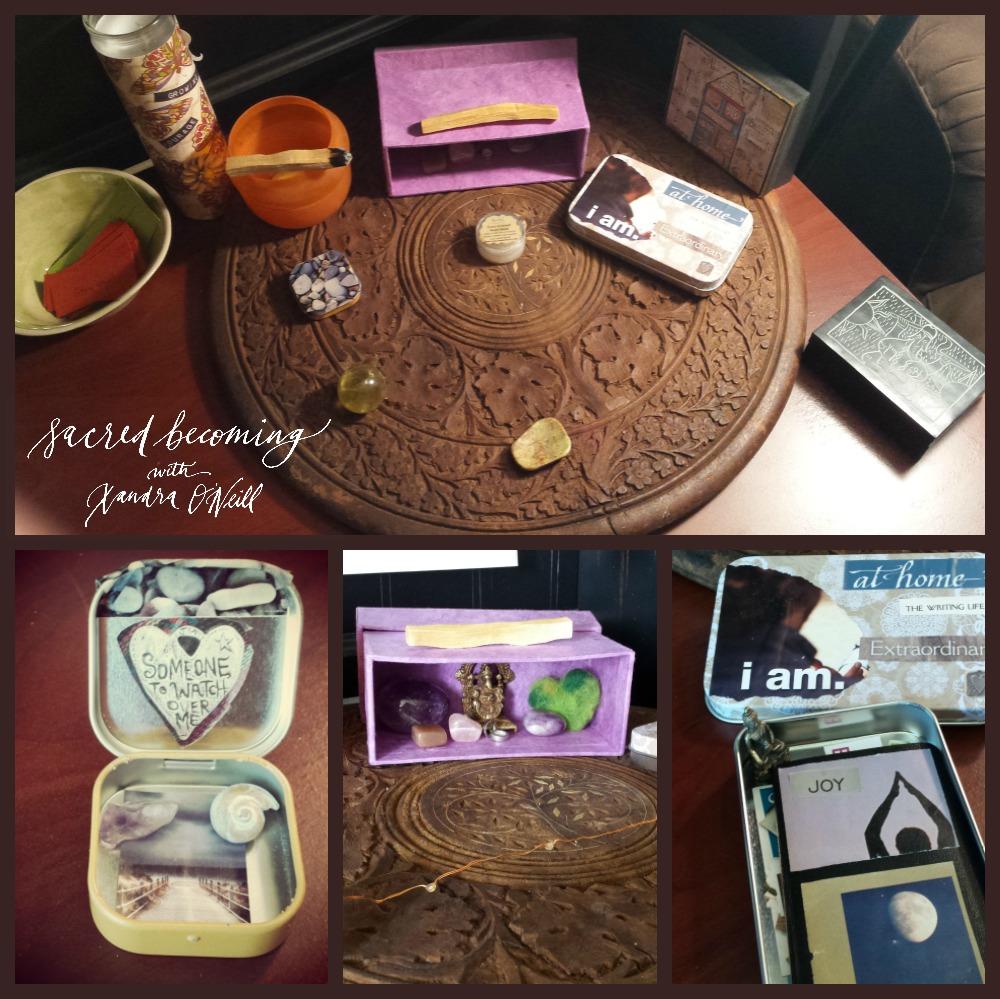 altar collage